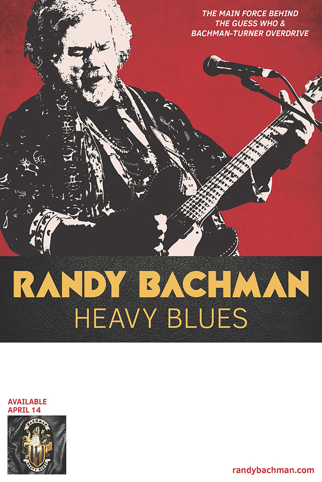 Randy Bachman - Heavy Blues poster