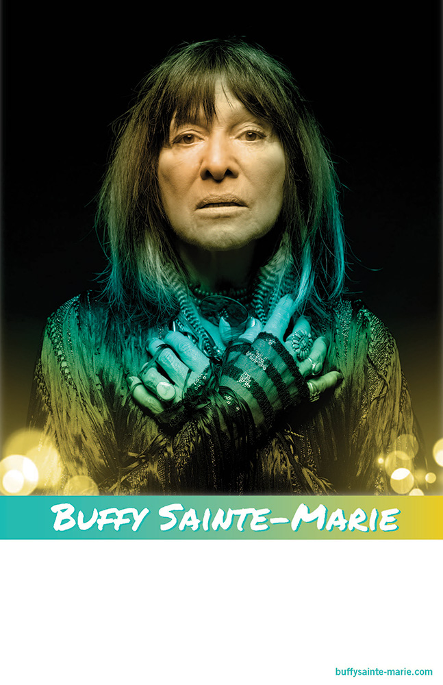 Buffy Sainte-Marie concept