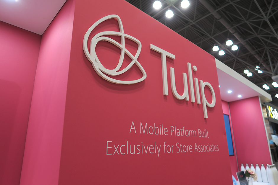 NRF 2018 Tulip Booth - close up